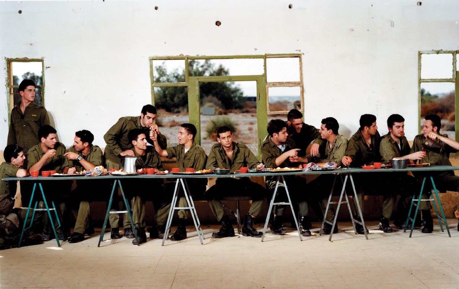 Israelis version of The Last Supper