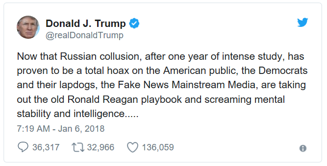Reagan Attacck on Trump